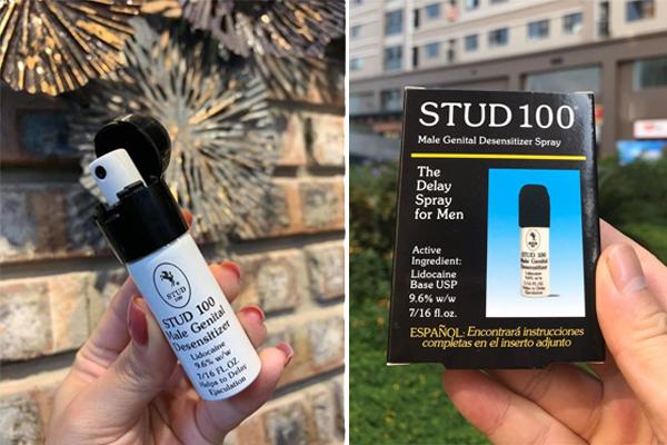Thuốc xịt Stud 100 đang được bán rộng rãi trên thị trường