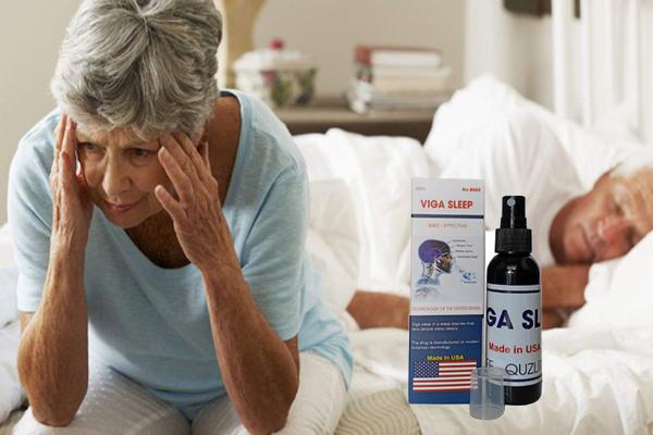 Viga Sleep giúp cải thiện giấc ngủ cho người già