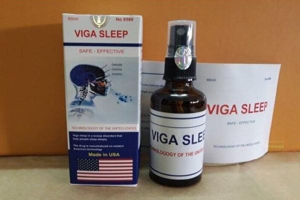 Thuốc mê dạng xịt Viga Sleep