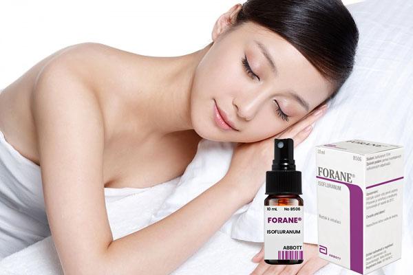 Thuốc mê dạng xịt Forane