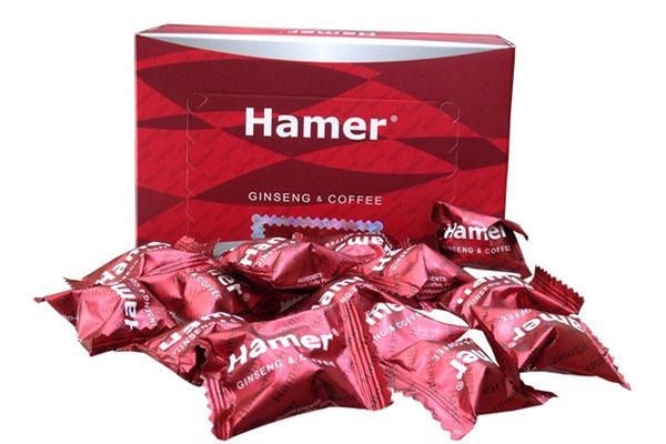 Kẹo sâm Hamer (Hamer Ginseng & Coffee)