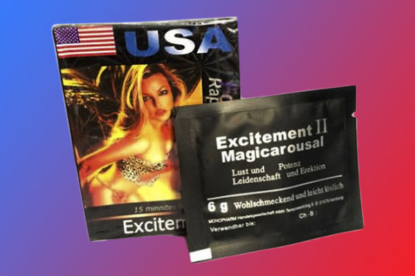 Thuốc kích dục nữ Excitement USA