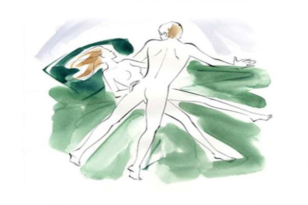 Tư thế quan hệ tình dục chữ X bắt chéo cũng được đánh giá là một trong những kiểu quan hệ tình dục gây hot hiện nay