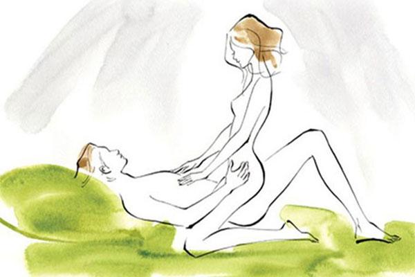 Tư thế quan hệ tình dục thác nước là một trong những tư thế được các nàng yêu thích nhất hiện nay