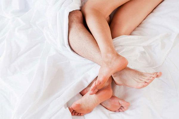 Điểm G có thể ở bàn chân của phụ nữ
