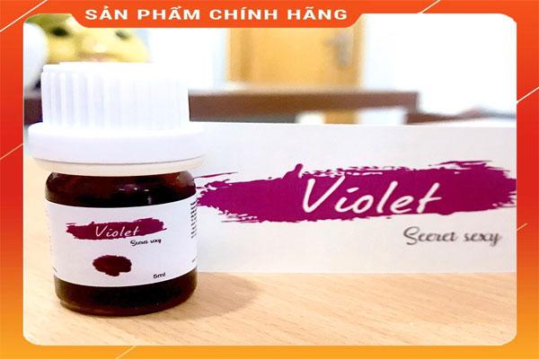 Nước hoa vùng kín Violet được chiết xuất tất cả đều từ thiên nhiên, kết hợp từ 7 loại tinh dầu