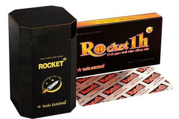 Viên uống Rocket 1H được xem như thần chú quý hiếm của các quý ông khi quan hệ tình dục