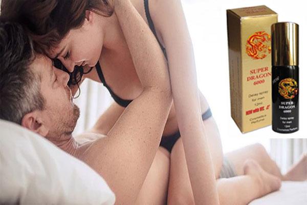 Thuốc xịt chống xuất tinh sớm Super Dragon 6000 là loại thuốc đặc biệt, hiện được được rất nhiều quý ông yêu thích.