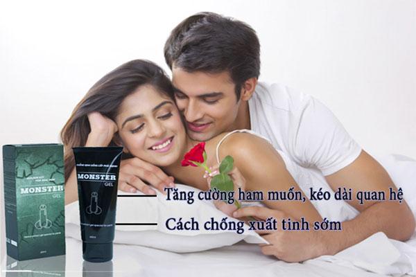 Thuốc Monster là thuốc kéo dài thời gian quan hệ giúp hỗ trợ cải thiện quan hệ cho nam giới 1 cách hiệu quả