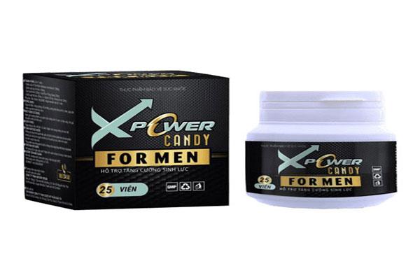 Xpower Candy được biết đến là loại kẹo ngậm tăng cường sinh lực, kích thích tình dục