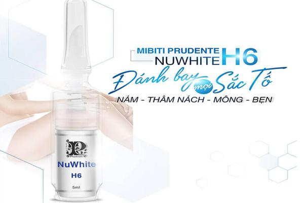 Kem trị thâm mông Nuwhite H6