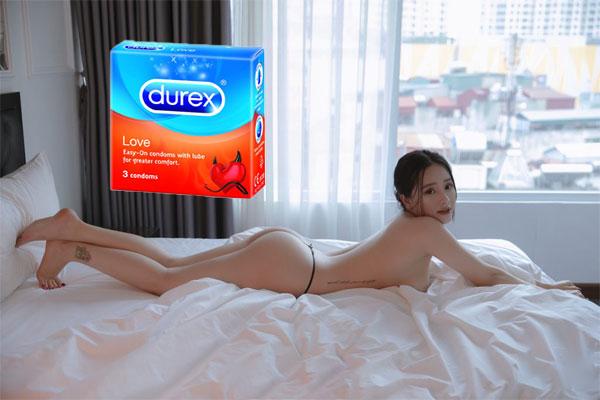 Durex Love là dòng bao cao su được đông đảo chị em yêu thích, giúp phái nữ dễ dàng lên đỉnh hơn trong mỗi lần quan hệ