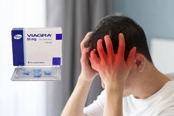 Rất ít trường hợp sử dụng thuốc Viagra để tăng cường sinh lực gặp phải các triệu chứng bất thường