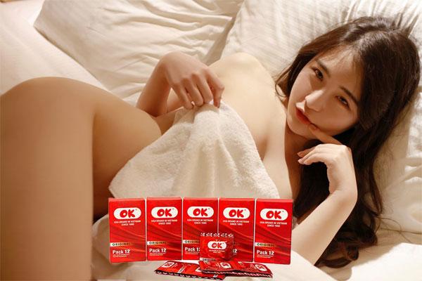 Bao cao su OK chính hãng là sản phẩm của hãng DKT International của Hoa Kỳ