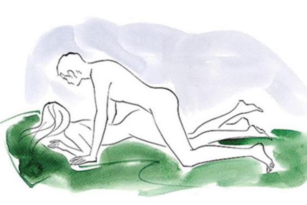 Tư thế tình dục úp thẳng