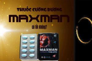 Tác dụng của Thuốc Maxman